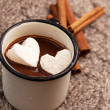 hot chocolate&quot — Stock Photo #39280425