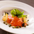 Stock Photo: Fish carpaccio