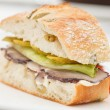 Tasty sandwich — Stock Photo #39576077