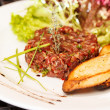 Stock Photo: Beef tartar