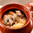 Stock Photo: Goulash in pot