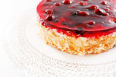 Cherry cake — Stock Photo
