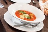 Gazpacho soup — Stock Photo