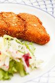 Wiener schnitzel — Stockfoto