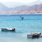 Boata on sea — Stock Photo