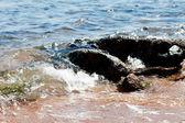 Waves crash — Stock Photo