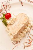Vanilla ice sweet — Stock Photo