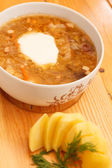 Leckere suppe — Stockfoto