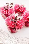 Kids cupcakes — Stock Photo