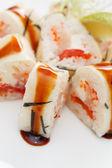 Chutné sushi — Stock fotografie