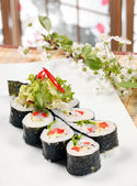 Tasty sushi — Stock Photo