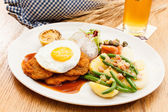 Wiener Schnitzel — Stock Photo