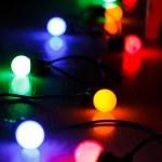 Christmas lamps — Stock Photo