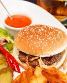 American burger — Stock Photo