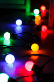 Lâmpadas de natal — Foto Stock