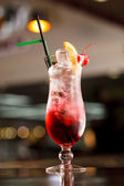 Cocktail in the bar — Stock Photo