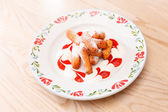 Dessert  from the cottage cheese — 图库照片