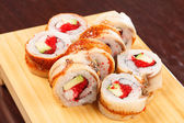 Sushi with eel — Stock Photo