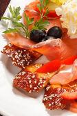 Fish appetizer — Stock Photo