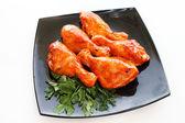 Raw chicken legs — Stock Photo