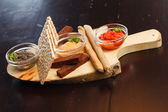 Appetizer in the bar — Stock Photo
