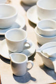 Ceramic dishes — Stock Photo