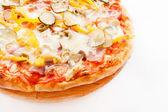 Pizza saborosa — Fotografia Stock