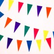 Colorful party flags — Stock Photo #44851235