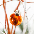 Christmas bauble — Stock Photo #46156595