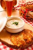 Potatis pannkakor — Stockfoto
