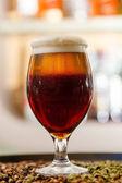 バーでビール — ストック写真