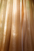 Gold curtains — Stock Photo