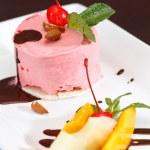 Cherry ice cream — Stock Photo #47315593