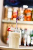 Milk cocktail — Stock Photo