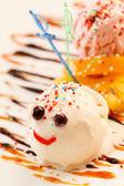 Funny ice cream — Stock Photo