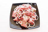 Raw pork — Foto de Stock
