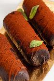 шоколадное печенье — Стоковое фото