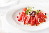 Meat Carpaccio — Stock Photo