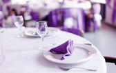 Tables set — Stockfoto