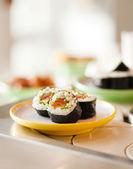 Saboroso sushi — Foto Stock
