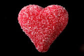 Marzipan heart — Stock Photo