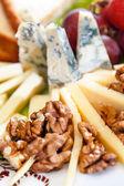 Cheese plate — Stock Photo