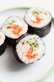 Leckere sushi — Stockfoto