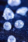 Sparkling diamonds — Stock Photo