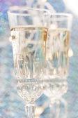 Champagneglas — Stockfoto
