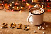 Feliz ano novo de 2015 — Fotografia Stock