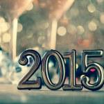 2015 mutlu yeni yıl — Stok fotoğraf #50997495