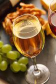 вино и сыр — Стоковое фото