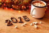 2015 Happy New Year — Stock Photo