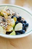 мюсли с фруктами — Стоковое фото